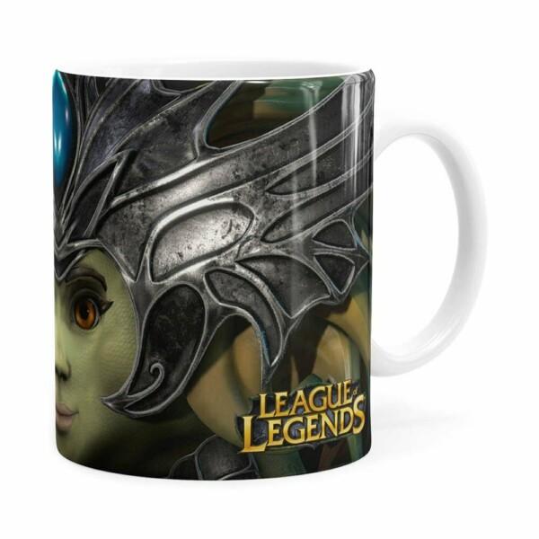Caneca Nami 3d Print League Of Legends Branca