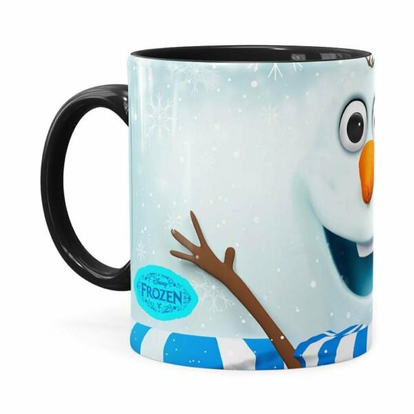 Caneca Olaf 3d Print Frozen Branca