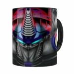 Caneca Optimus Prime 3d Print Transformers Branca