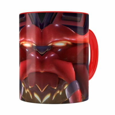 Caneca Ornn 3d Print League Of Legends Vermelha