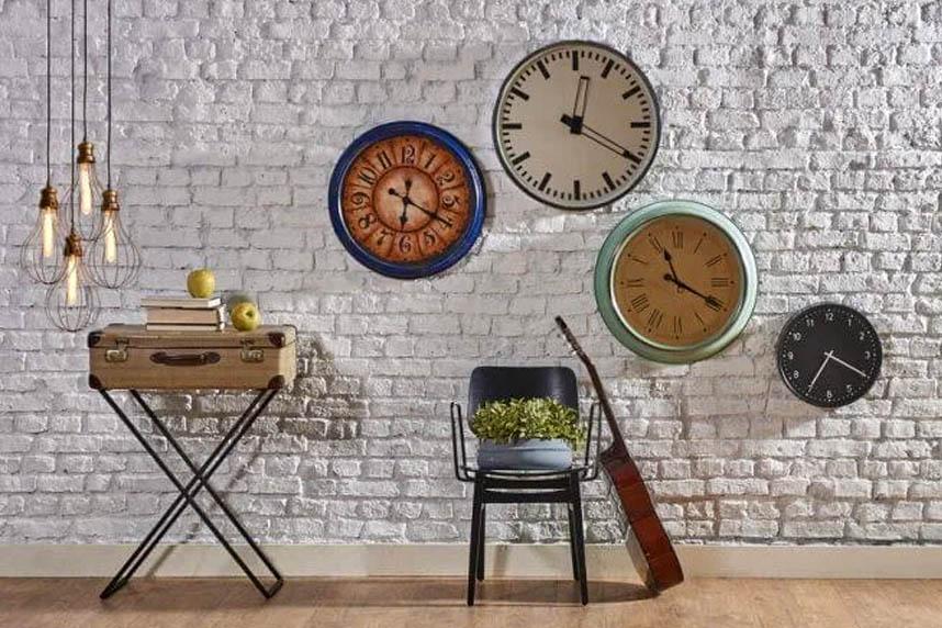 Relógios De Parede, Decoração E Pontualidade
