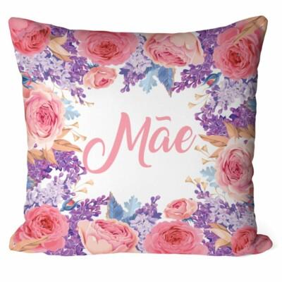 Almofada Mãe Floral Rosas