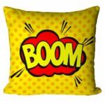 Almofada Onomatopeia Comic Boom V01