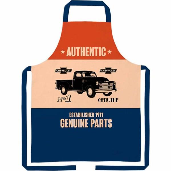 Avental Gm Genuine Parts Algodão 80x70cm