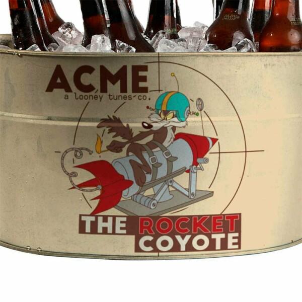 Balde De Gelo Coyote Acme The Rocket