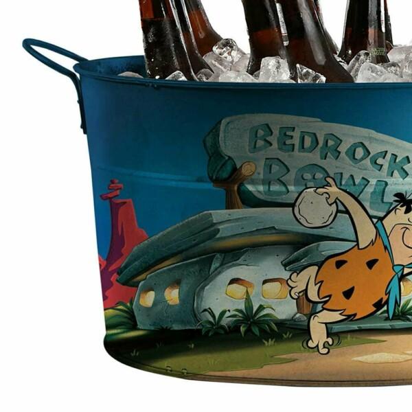 Balde De Gelo Flintstones Fred Bowling