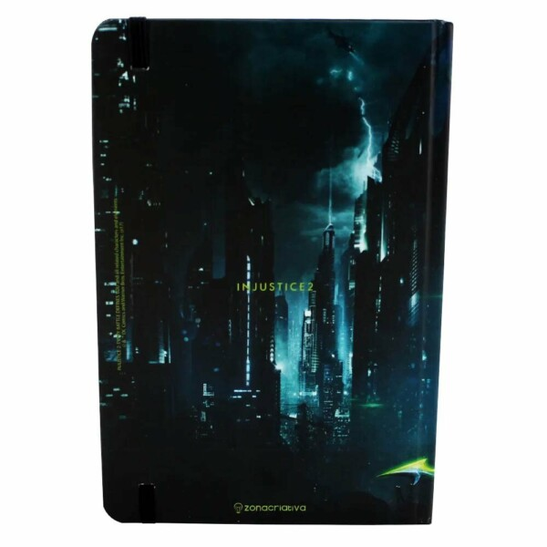 Caderno Batman Metalico Injustice