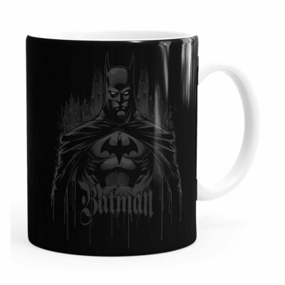 Caneca Batman The Dark Knight Branca