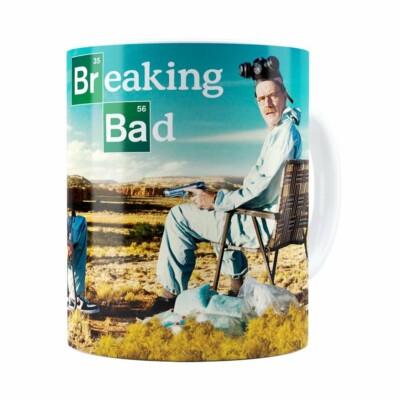 Caneca Breaking Bad V05 Branca