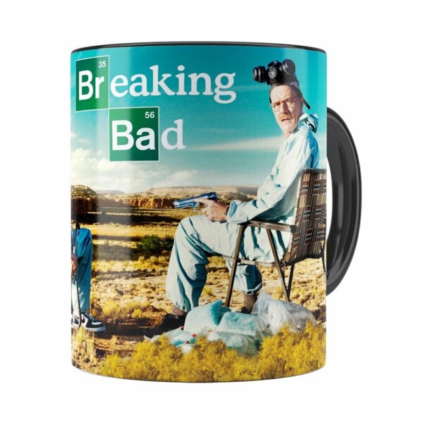 Caneca Breaking Bad V05 Preta