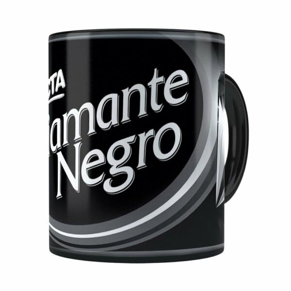 Caneca Chocolate Diamante Negro Barra Preta