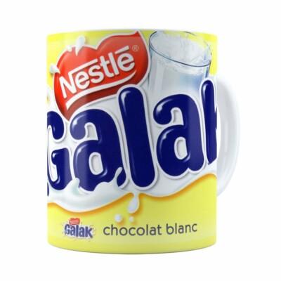 Caneca Chocolate Galak Branca