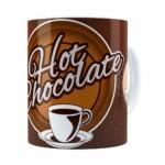 Caneca Chocolate Hot Chocolate Branca
