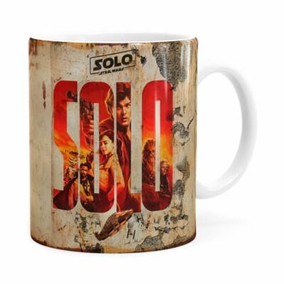 Caneca Han Solo Star Wars 3d Print Branca