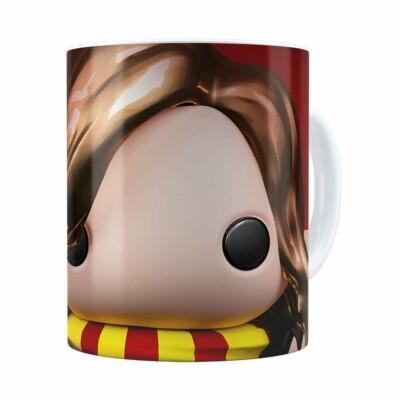 Caneca Harry Potter Hermione 3d Print Branca