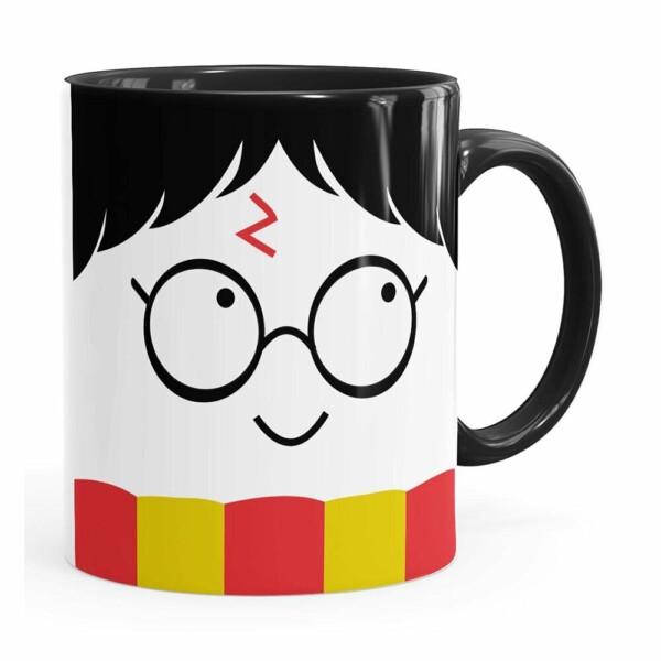 Caneca Harry Potter Todos Temos Luz Branca