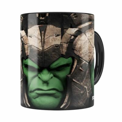 Caneca Hulk 3d Print Avengers Ragnarok Preta
