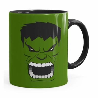 Caneca Hulk Anime Preta