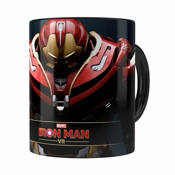 Caneca Hulkbuster 3d Print Homem De Ferro Preta