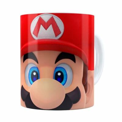 Caneca Mario 3d Print Super Branca