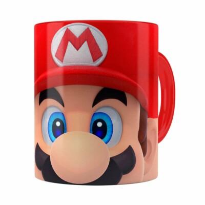 Caneca Mario 3d Print Super Vermelha