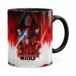 Caneca Star Wars The Last Jedi 3d Print Preta