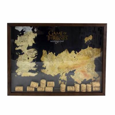 Quadro Coleção De Rolhas Game Of Thrones