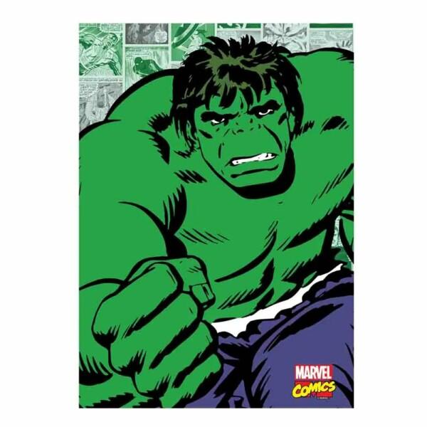 Quadro Decorativo Hulk Quadrinhos