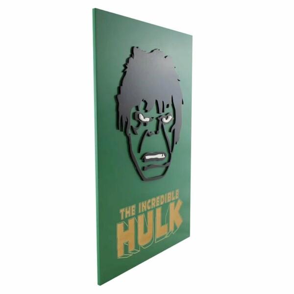Quadro Decorativo Incrivel Hulk