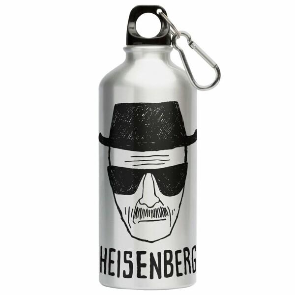Squeeze Breaking Bad Heisenberg 500ml Aluminio