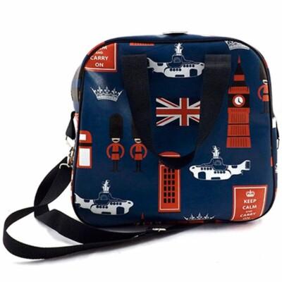 Bolsa London Forever Keep Calm And Carry On 32x32cm