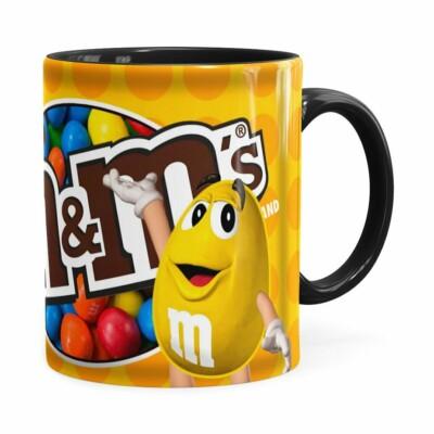 Caneca Chocolate MMs Peanut Preta