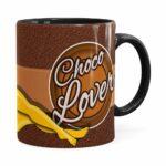 Caneca Chocolate Os Simpsons Marge Choco Lover Preta