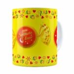Caneca Chocolate Serenata De Amor V02 Branca