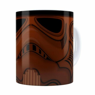 Caneca Chocolate Star Wars Chocotrooper Branca
