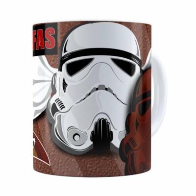 Caneca Chocolate Star Wars Stormtrufas Branca