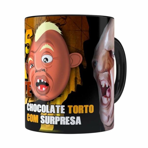 Caneca Chocolate The Goonies Mama Preta