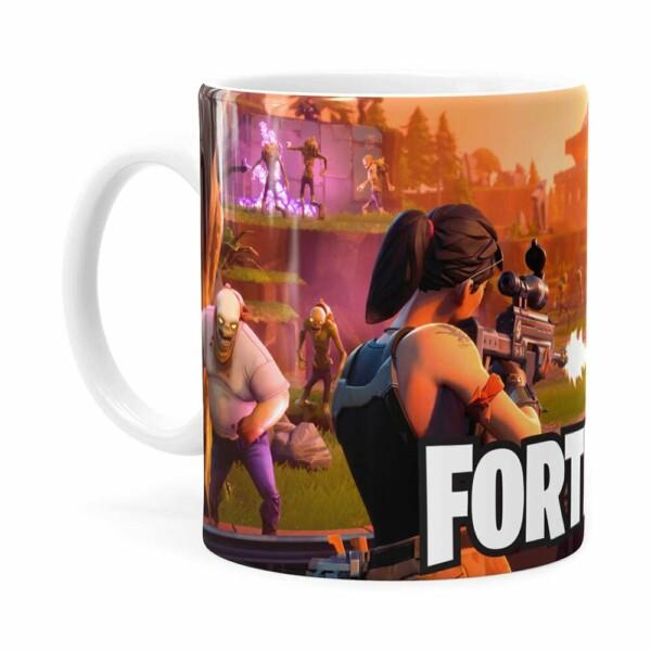 Caneca Fortnite Games V03 Branca