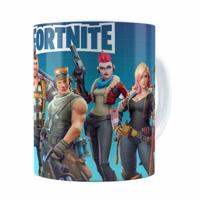 Caneca Fortnite Games V04 Branca
