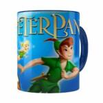Caneca Peter Pan 3d Print Azul Escuro