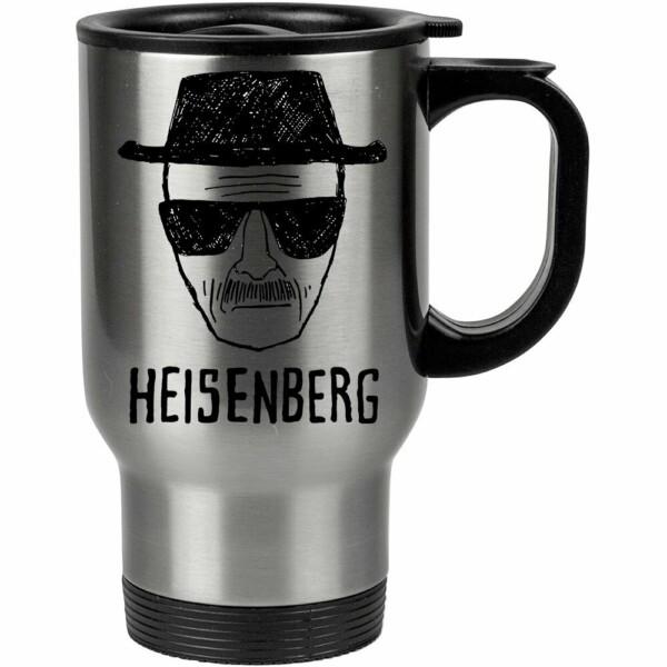 Caneca Térmica Breaking Bad Heisenberg 500ml Inox