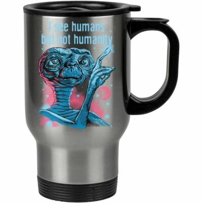 Caneca Térmica Et Eu Vejo Seres Humanos 500ml Inox
