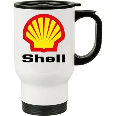 Caneca Térmica Shell 500ml Branca