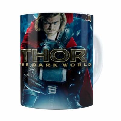 Caneca Thor The Dark World Filme Branca