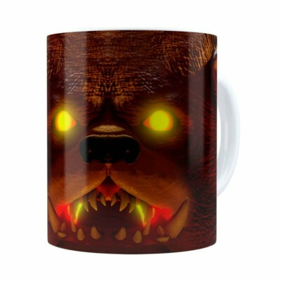 Caneca Tibbers 3d Print League Of Legends Branca