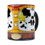 Caneca Woody 3d Print Corpinho Toy Story Preta