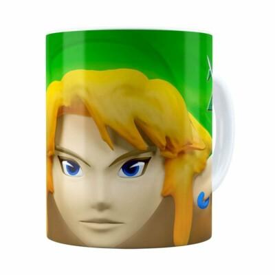 Caneca Zelda 3d Print Games Branca