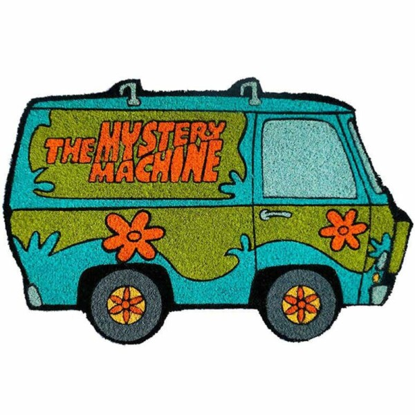 Capacho Scooby Doo The Mistery Machine 75x45cm