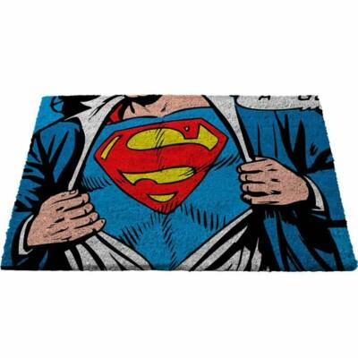 Capacho Superman Colorido 75x45cm