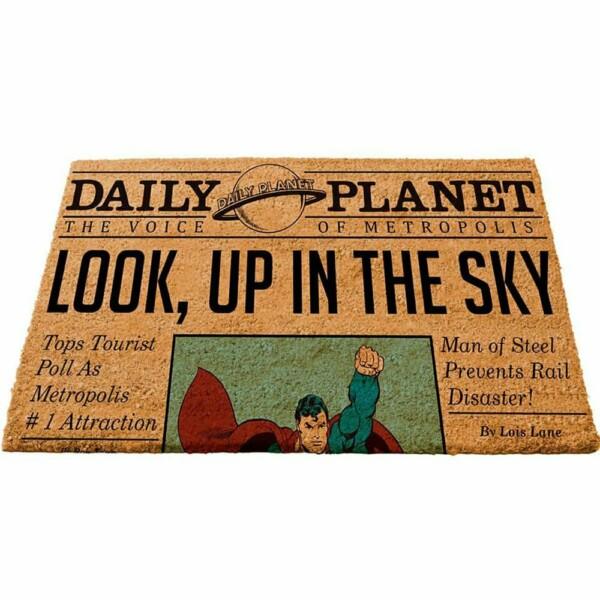 Capacho Superman Daily Planet 75x45cm